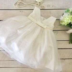 Other - Ivory Organza Baby Baptism Flower Girl Dress